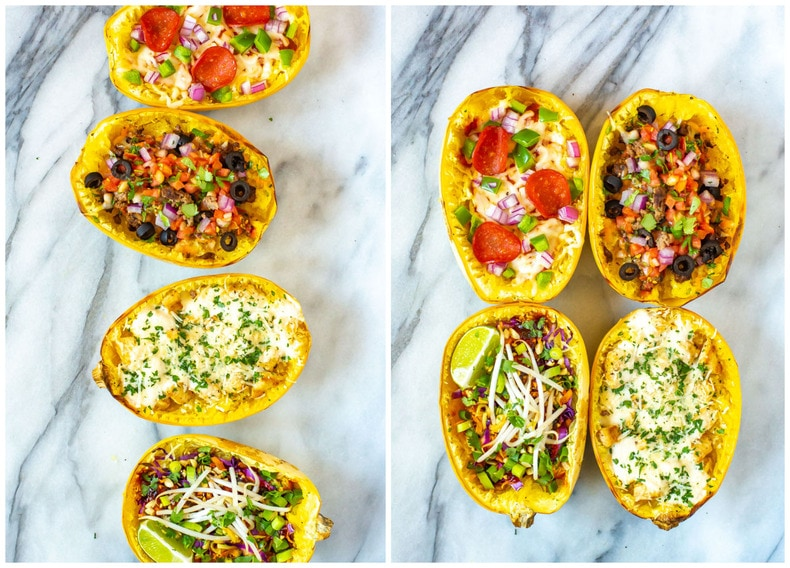 How to Cook Spaghetti Squash 4 Ways
