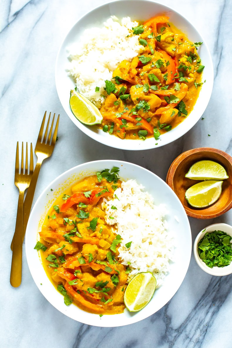 One Pot Pumpkin Curry