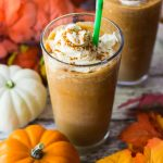 Starbucks Pumpkin Spice Frappuccinos