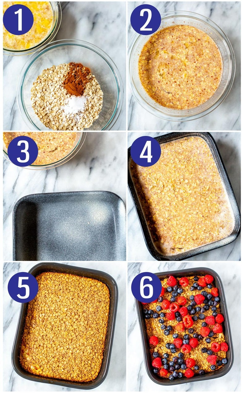 Best Baked Oatmeal Ever