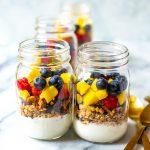 Healthy Meal Prep Yogurt Parfaits