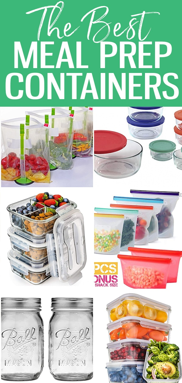 Meal prep containers don't have to be complicated! Here are the best containers on the market - just the basics, nothing fancy or expensive. #mealprepcontainers