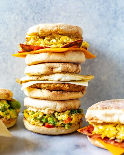 Breakfast Sandwich Recipes 3 Ways