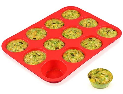 silicone muffin trays