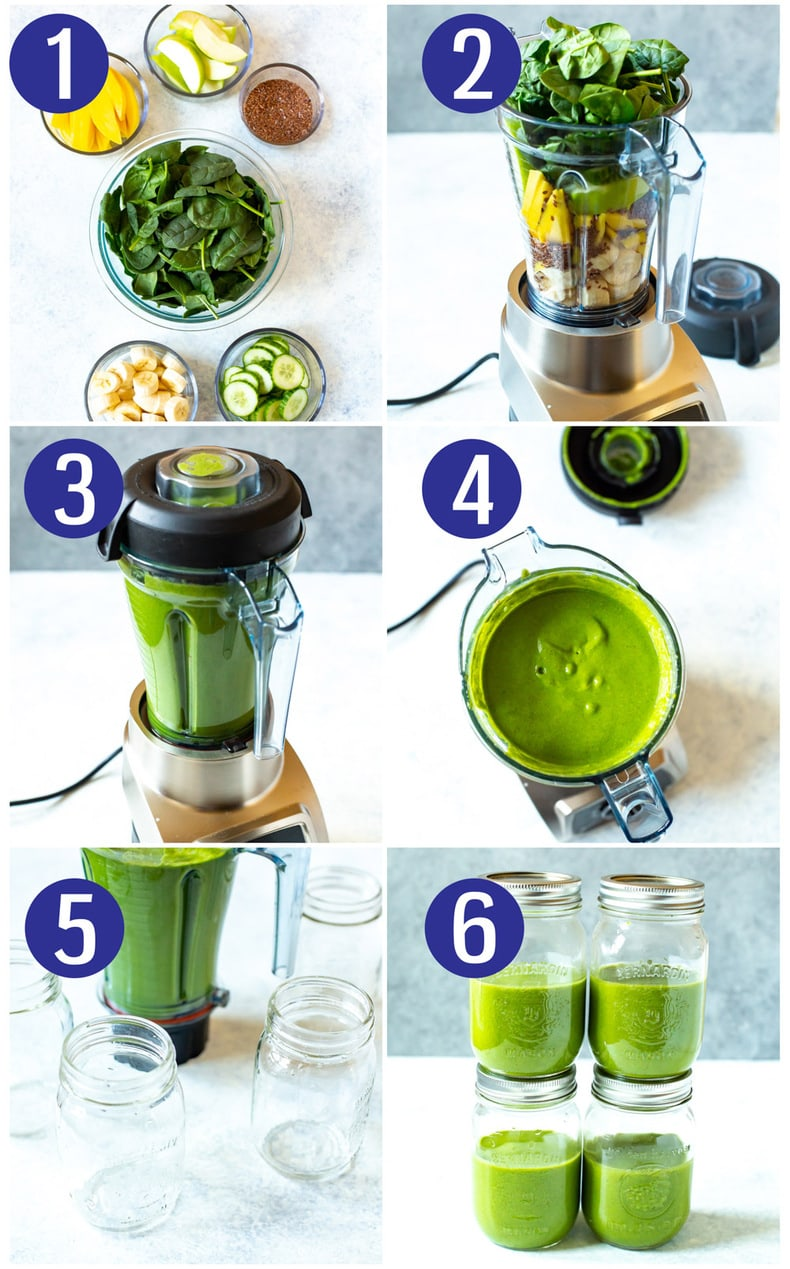 Meal Prep Green Smoothie