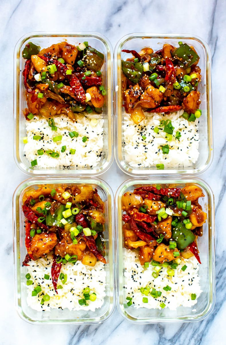 Chinese-Inspired Chilli Chicken