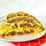 Applebee's Quesadilla Burger