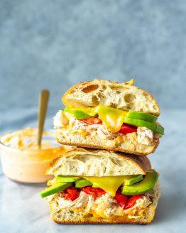 Chipotle Chicken Avocado Melt
