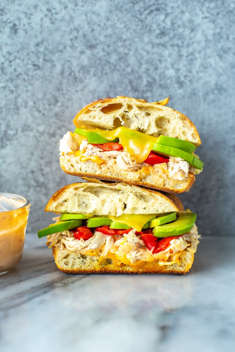 Chipotle Chicken Avocado Melt