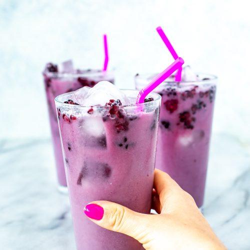 Starbucks Violet Drink