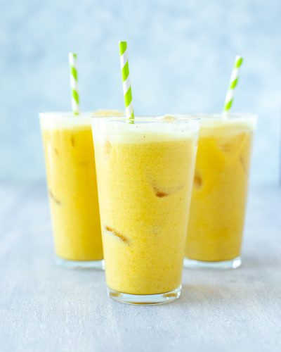 Iced Golden Ginger Drink