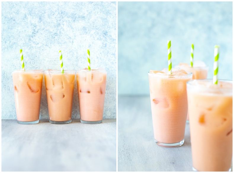 Iced Guava Passionfruit Drink