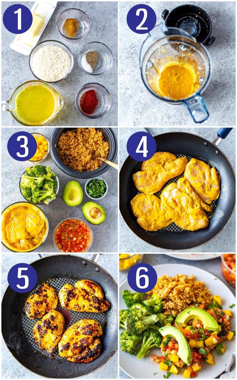 Mango Chile Chicken Chili's Copycat