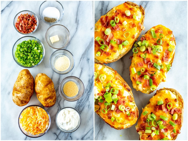 Twiced Baked Potatoes