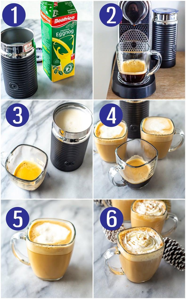 Starbucks Eggnog Latte