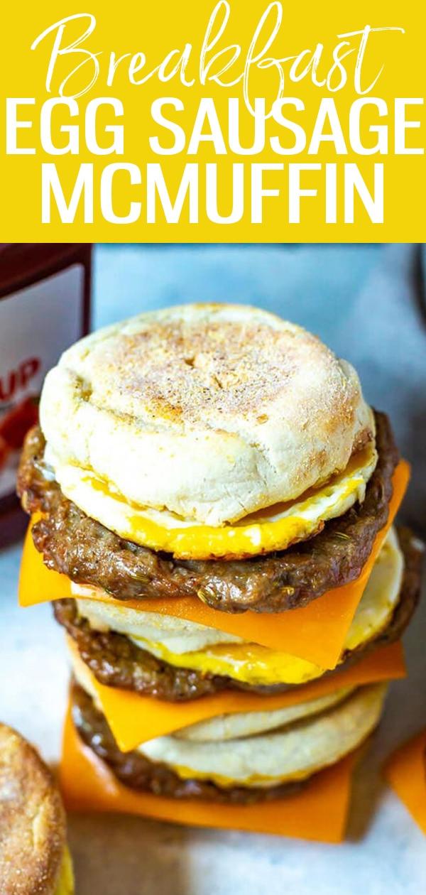 #breakfast #sausagemcmuffin
