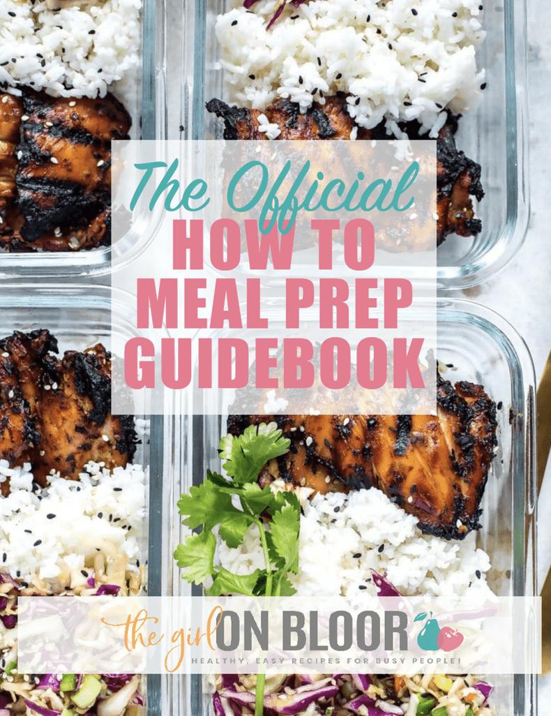 Meal prep guidebook