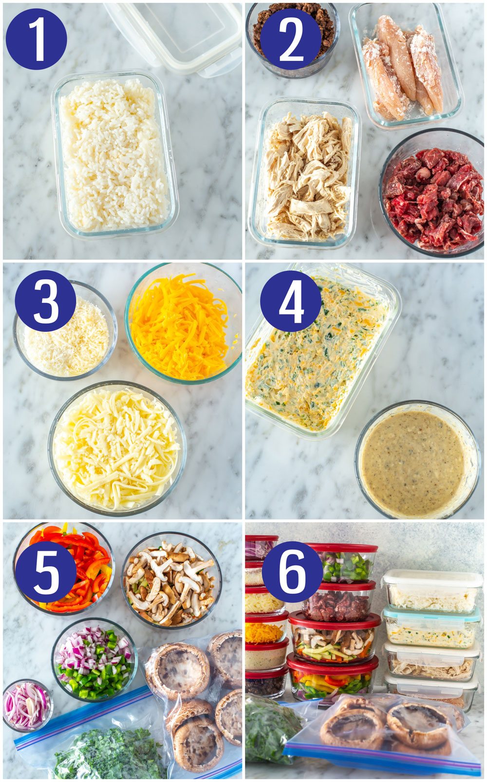 Food Prep in One Hour