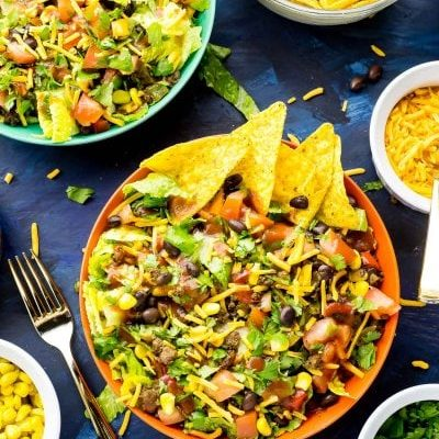 20-Minute Doritos Taco Salad