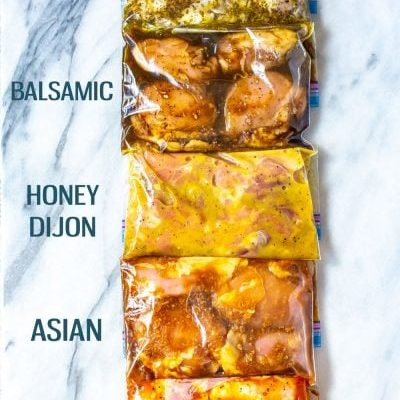 Delicious Chicken Thigh Marinades - 5 Ways