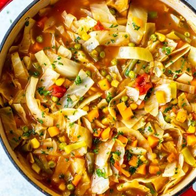 Clean Eating Cabbage Soup