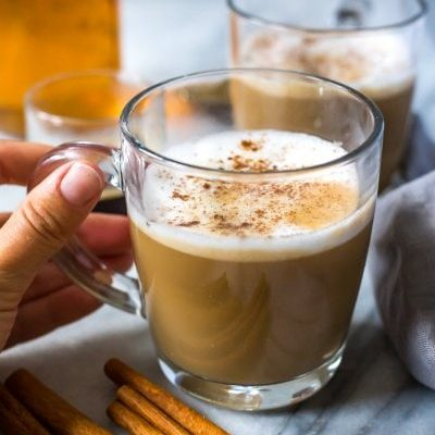 Homemade Cinnamon Dolce Latte