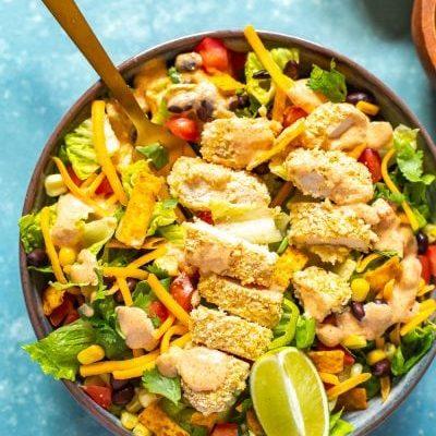 McDonald's Southwest Salad Copycat Recipe