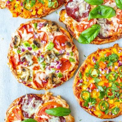 Pita Pizza 3 Ways