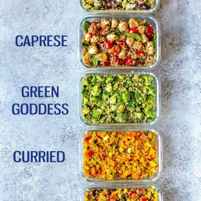 Quinoa Salad 5 Ways