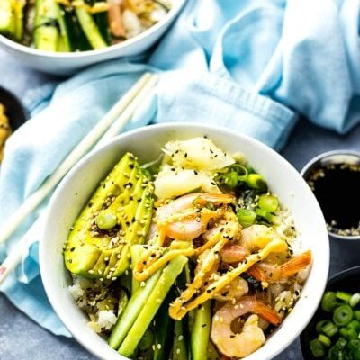 Shrimp Dynamite Sushi Bowls